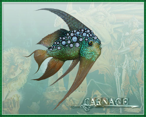 Бриллиантовая рыбка